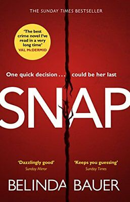 Snap: 'The best crime novel I've read in a very long time' Val