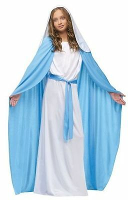 Blue Robe Mary - Christmas Nativity Costume - Available in Adult and Child Sizes (Mary Christmas Costume)
