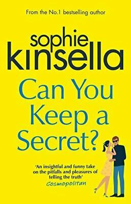 Can You Keep A Secret?, Kinsella, Sophie, Very Good, Paperback