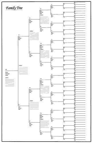 It's just a graphic of Intrepid Family Tree Printable Charts