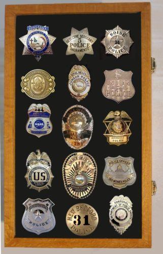 Badge Display Case Ebay