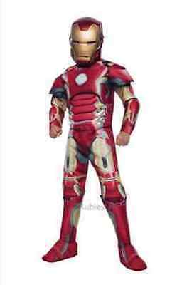 Rubies Avengers 2 Age Of Ultron Deluxe Iron Man Kinder Halloween (Ironman Halloween Kostüm)