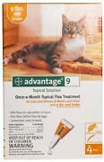 Advantage for Cats Under 9 Lbs
