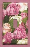 Switch Plate Cover Roses