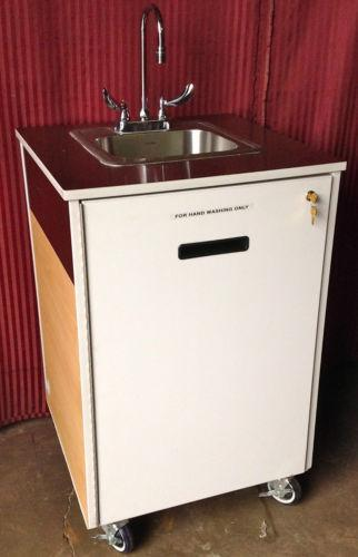 Used Portable Sink Ebay