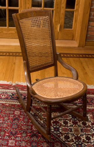 Cane Rocking Chair Ebay