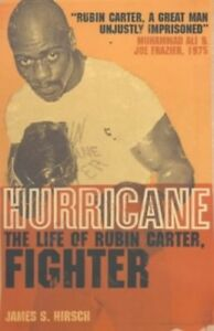 Hurricane: The Life of Rubin Carter, Fighter by Hirsch, James S. Paperback Book
