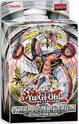 Yugioh Cyber Dragon Revolution (SDCR) Structure Deck (42 Cards)