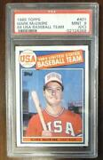 1985 Topps Mark McGwire