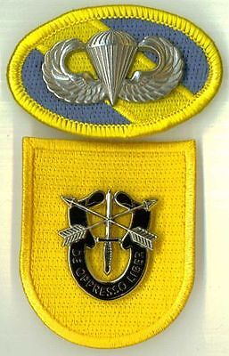 1st SPECIAL FORCES GROUP -  TYPE I - OVAL WINGS DI FLASH - TYPE OF 1961-63
