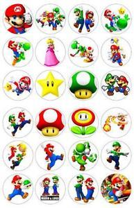 Mario Cake Topper Ebay