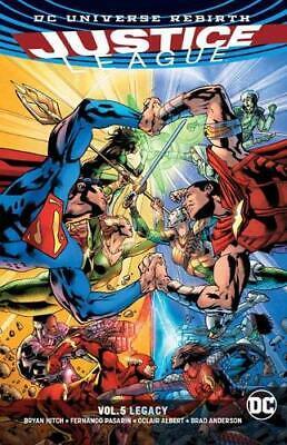 Justice League Vol. 5: Legacy (Rebirth) (Justice League: Legacy - Rebirth) (Just