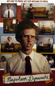 2005 NAPOLEON DYNAMITE COLLAGE POSTER NEW 22x34 33