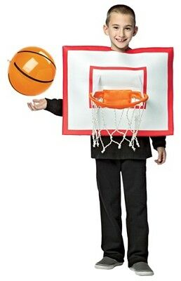 Kids Basketball Hoop Costume 7-10
