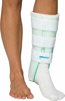 - NEW Aircast Leg Support Brace with Anterior Panel, Left Leg, One Size Fits Most