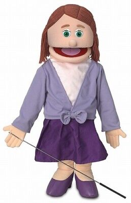 Silly Puppets Sarah (Caucasian) 25 inch Full Body Puppet