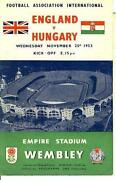 England V Hungary