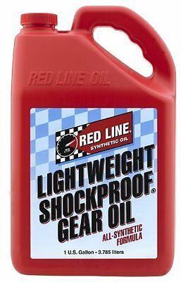 Red Line 58405 Lightweight ShockProof Gear Oil - 1 Gallon