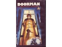 RARE DOORMAN Big Box Vhs Video