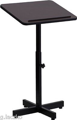 Podium Lectern Pulpit Wood Clear Stand Church School Lucite Oak Presentation, used for sale  Avenel