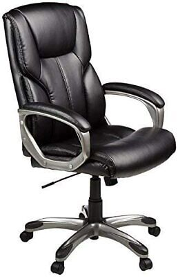Amazon Basics High-back Executive Adjustable Office Desk Chair With Casters