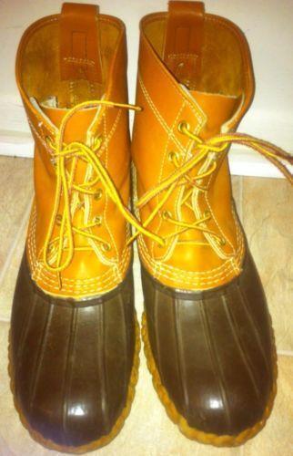 Ll Bean Boots 11 Ebay