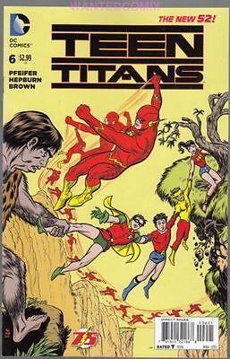 TEEN TITANS #6 FLASH 75 VARIANT COVER DC COMIC BOOK NEW 1 POWER GIRL KID FLASH