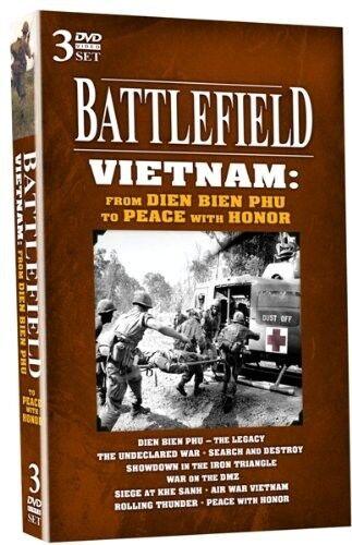 Battlefield Vietnam: From Dien Bien Phu to Peace with H (2010, REGION 1 DVD New)