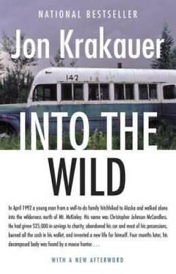 Into the Wild - Paperback By Jon Krakauer - GOOD