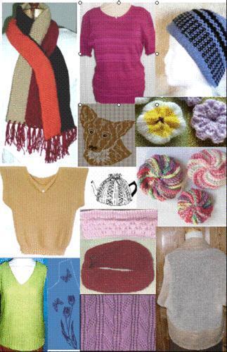 Knitting Machine Patterns Ebay