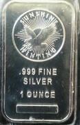 1 oz Silver Bullion Bar