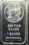 1 oz Silver Bullion Bar