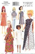 Vogue Barbie Pattern
