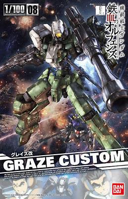 Bandai 1 100 New Iron Blooded Orphans Gundam Graze Custom Mobile Suit