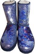 Blue Sequin Uggs