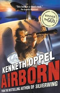 Signed, Airborn by Kenneth Oppel, 1st edition