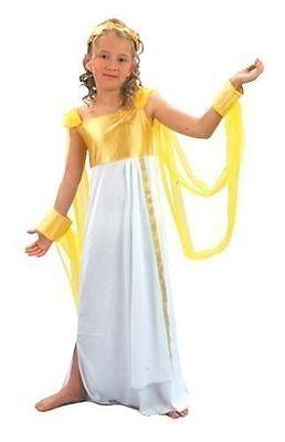 Mädchen Gold Griechische Römische Göttin Kostüm