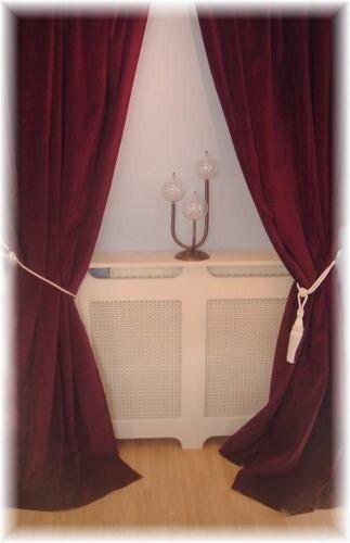 Curtains Ideas curtains cardiff : Pair Wine Red Velvet Curtains | in Llanedeyrn, Cardiff | Gumtree