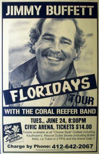 Jimmy Buffett Poster Ebay
