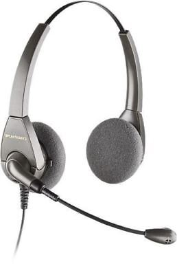 Plantronics H101 Encore Binaural On-Ear Voice Tube Office Headset Headset Voice Tube