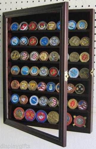 wooden challenge coin holder