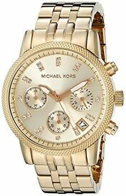Brand New Michael Kors Ladies Gold Watch MK5676