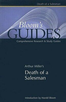 Death of a Salesman (Bloom's Guides) Paperback Book The Cheap Fast Free Post