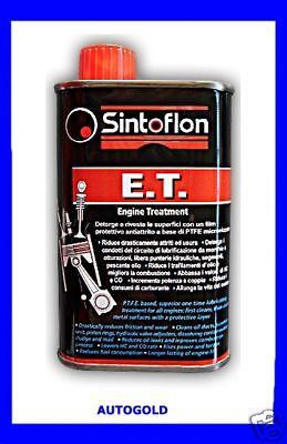 SINTOFLON ET 250 Aditivo Limpiador para aceite de motor PTFE TEFLON -...