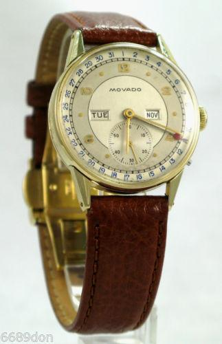 mens vintage wrist watches movado ebay