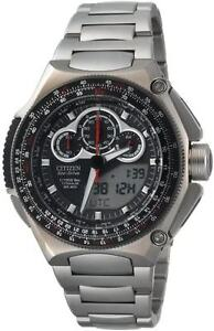 Citizen Men's JW0030-55E Eco-Drive Promaster SST Titanium Watch
