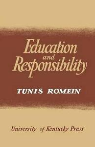 Education and Responsibility by