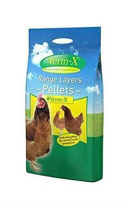 Verm-X Layers Pellets 5kg Poultry Chicken Feed Food