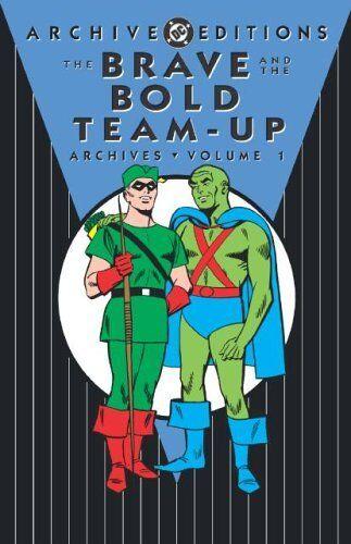 Ramona Fradon SIGNED Brave & The Bold Team Up Archives 1 Batman & Green Lantern