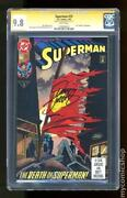 Superman 75 Signed